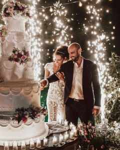 آتش بازی جشن عروسی