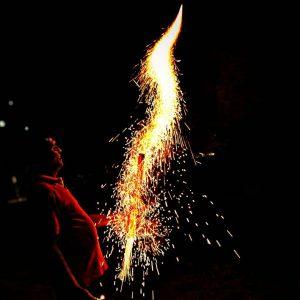 آتش بازی و عکاسی از آن